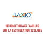 INFORMATION AUX FAMILLES SUR LA RESTAURATION SCOLAIRE